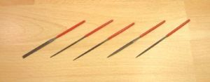 5pc Miniature Needle File (100mm)